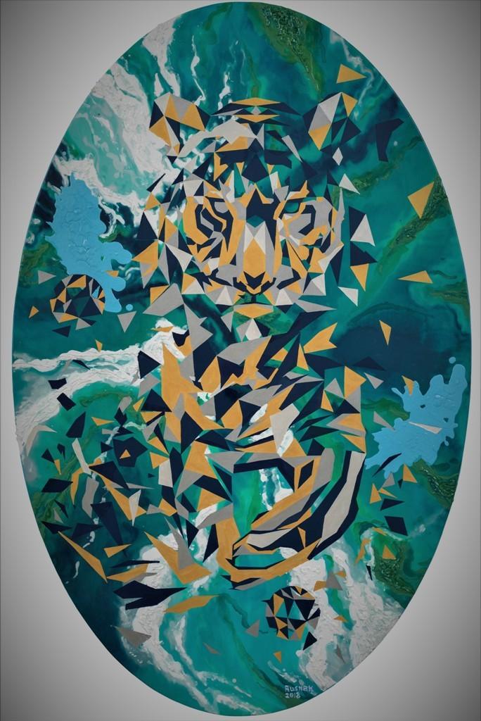 Tiger_2018_Canvas,acrylic_140x90